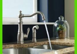 One Touch Kitchen Faucet Moen One Touch Kitchen Faucet Beautiful Moen Brantford E Handle
