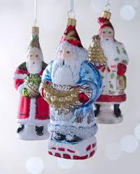 folk santa claus ornaments by vaillancourt folk