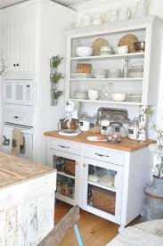 go vintage with antique cabinet for chic kitchen homesfeed
