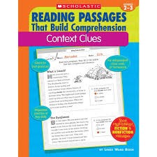 reading passages context clues book grades 2 3
