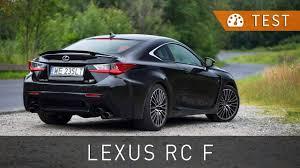 lexus rc350 v8 lexus rc f 5 0 v8 477 km 2016 test pl review eng sub