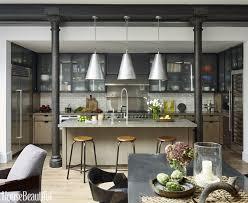 Industrial Kitchen Furniture Kitchen Style Countertops Glass Cabinet Doors Modern Industrial