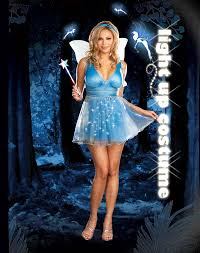Light Up Costumes Blue Fairy Light Up Costume Express Delivery Australia