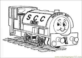 thomasthetrain 01 coloring free land transport coloring