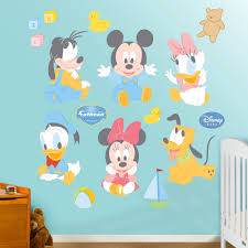 baby mickey mouse u0026 friends wall decals by fathead