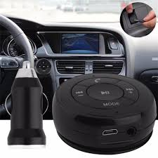 bluetooth music audio receiver adapter handsfree car kit with aux