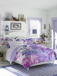 impressive purple teen bedroom decoration using light purple