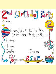 rachel ellen invitation card 2nd birthday rachel ellen design