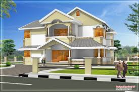 slanted roof house modern sober coloured sloping roof house kerala home design