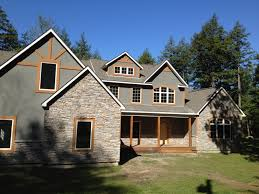 stone and grey wall of modular victorian home plans can be