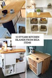 ikea kitchen cabinets on wheels 15 stylish kitchen islands from ikea items shelterness