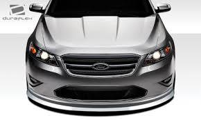 10 12 ford taurus racer duraflex front bumper lip body kit