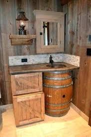 bathroom ideas rustic country rustic bathroom ideas exle of a mountain style beige tile
