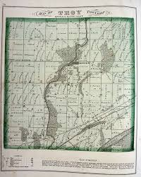 Troy Ohio Map by Will County Ilgenweb