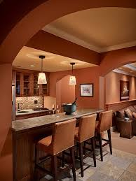 how to make a big room feel cozier with paint colour shown in