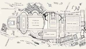 roman insula floor plan rome carput mundi merve işık