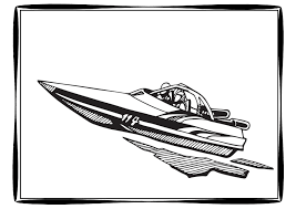 draw speed boat coloring pages 91 for your free coloring book with