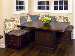 Kitchen Table With Storage by Kitchen Kitchen Storage Bench And 22 Corner Breakfast Nook Image