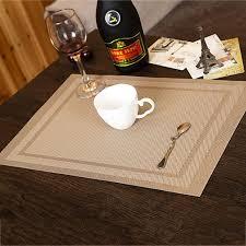 napperon de cuisine tapis de table pour la maison décoration tapis de pvc cuisine