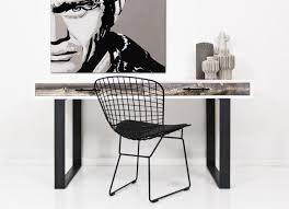 White Art Desk Cody Collection Modshop
