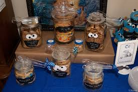 cookie monster table decorations monster party