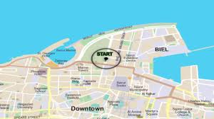 Beirut On Map 42km Map 2016 Blom Bank Beirut Marathon Youtube