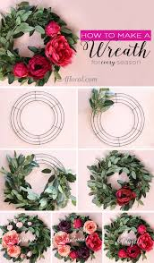 how to make a wreath how to make a silk flower wreath wreath tutorial simple diy and