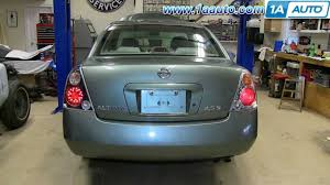 nissan altima 2005 colors how to install replace change taillight and bulb 2002 06 nissan