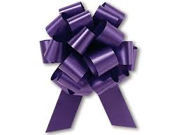 pull bow ribbon 5 5 in wide flora satin polypropylene pull bows w 20 loops of 1 7