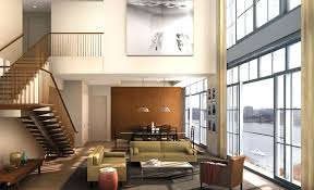 Modern Living Room Residential Apartment Interior Design - New york apartments interior design