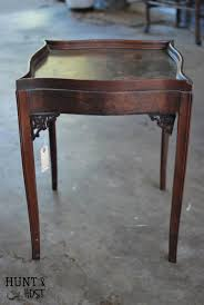 Chalk Paint Side Table Side Table To English Memory A Weathered Flag Hunt And Host