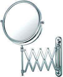 extending bathroom mirrors extending bathroom mirror led 8 inch dual arm extend bathroom