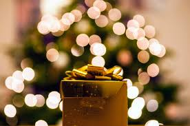 free stock photo of bokeh christmas gift