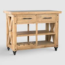 rolling kitchen islands pinewood rolling kitchen island