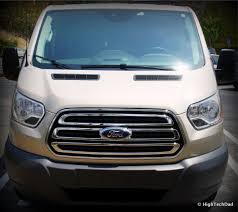 a surprisingly good vacation van 2015 ford transit wagon xlt