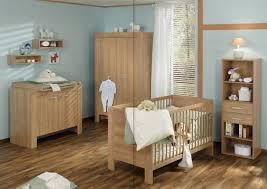 unisex baby nursery decor wooden bedside table luxury kid room