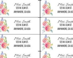 address shipping labels etsy