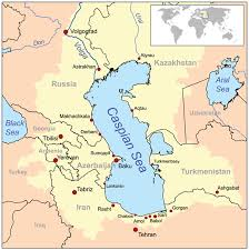 middle east map water bodies bodies of water of azerbaijan wikiwand