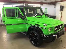 mercedes g wagon green 2016 g class adds new colors black packs and designo cabin we