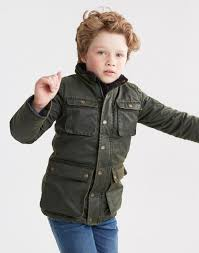 jnrbarnham evergreen wax style jacket joules uk boys fashion
