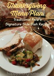 a thanksgiving menu plan brussels sprouts recipe