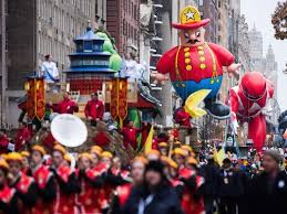 tv thanksgiving parade on nbc and cbs