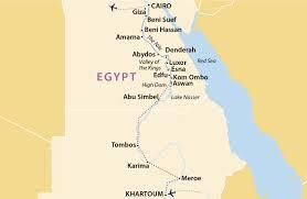 Map Of Sudan Khartoum To Cairo Sudan Jules Verne