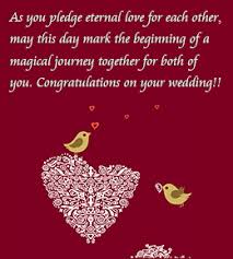 wedding congrats message from your heart words of congratulations for a wedding