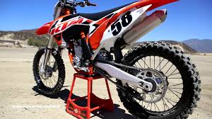 motocross action magazine first ride 2015 ktm 350sxf motocross action magazine youtube