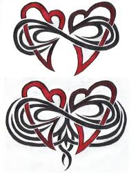 33 best double heart tattoo designs images on pinterest drawing