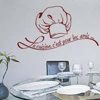 stickers pour la cuisine stickers cuisine texte