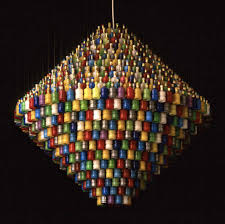 Cheap Plastic Chandelier How To Make 10 Incredible Chandeliers Created Out Of Everyday Junk
