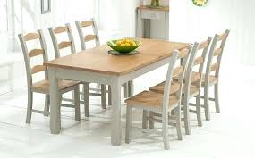 Dining Room Table Refinishing Dining Table Oak And Grey Painted Dining Table Sets Dining Room