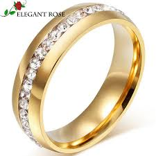 popular cheap gold rings for men buy cheap click to buy brand jewelry gold color women men ring